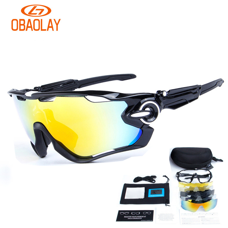 Подробнее о OBAOLAY Polarized Sports Men Sunglasses Cycling Glasses Mountain Bike Bicycle Riding Protection Goggles Eyewear for women 5 Lens mountaineering goggles oculos juliet ladies sunglasses biker polarized glasses uv protection sunglasses sports eyewear