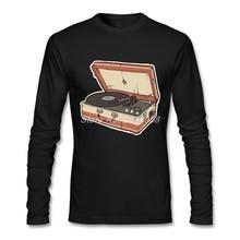 Vintage Record Player men's longsleeve shirt