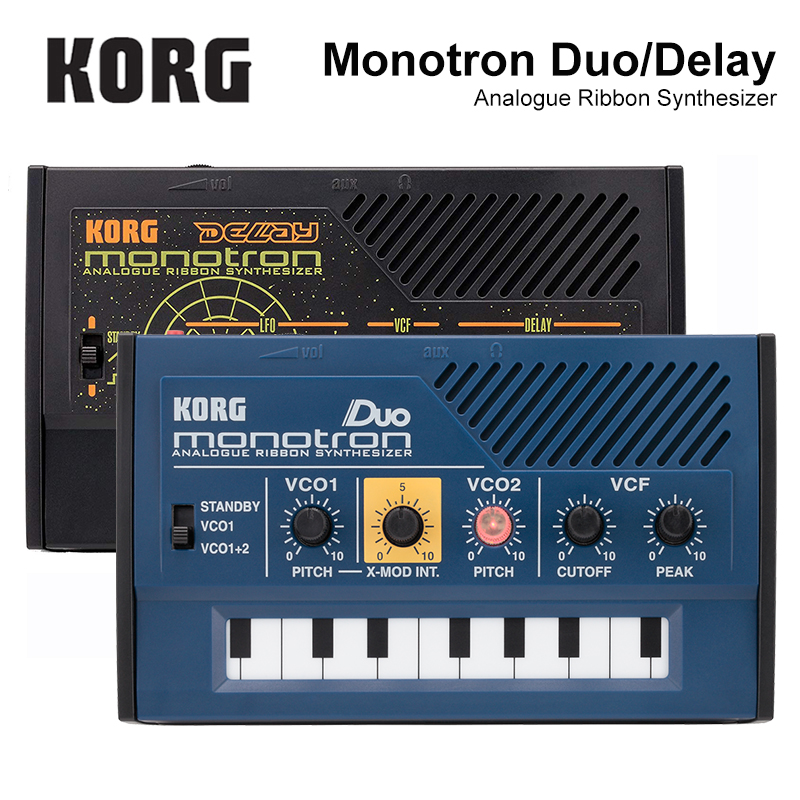 Korg Monotron Delay Monotron Duo Analog Ribbon Synthesizer недорго, оригинальная цена