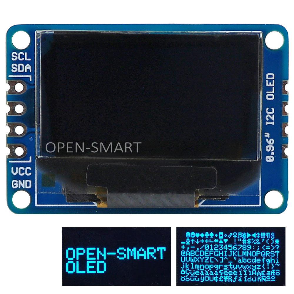 OPEN-SMART 0.96 inch I2C Interface Blue Color OLED Display Breakout Module 128*64 for Arduino UNO R3 / Mega2560 / Leonardo dji phantom 3 upair chase propeller page 5