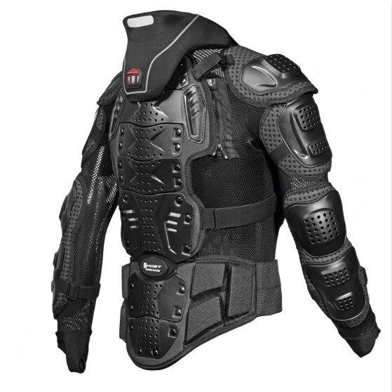 Armure de protection de coude et de poitrine et le cou pour moto scooter