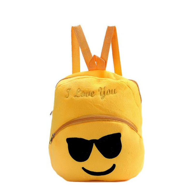 Women Backpack New Lovely Cartoon Style Emoji