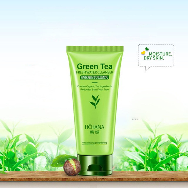 Right! Green tea facial cleanser the expert