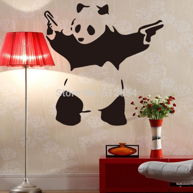 New Wall Decals Kungfu Panda Wall Sticker Removable Wall Art - Vinyl wall decals removable