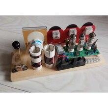 Elektronische buis drie lamp QRP station elektronische buis radio transceiver 7.023 7.050 transceiver kits dual purpose