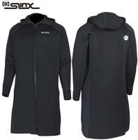 SLINX мм для мужчин женщин 3 мм неопрена бурелом Dive ветровка быстрого теплоизоляция после дайвинга и одежда заплыва Рыбалка зимой
