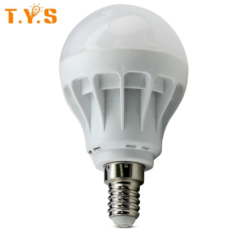 Led lamp e27 220v light 1w 3w 5w smd 5730 focos luz - Bombillas led 5w ...
