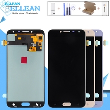 купить Catteny 2018 J4 Lcd With Touch Digitizer Asssembly For Samsung Galaxy  J400 Lcd J400F Display Touch Screen Glass Free Shipping по цене 937.17 рублей
