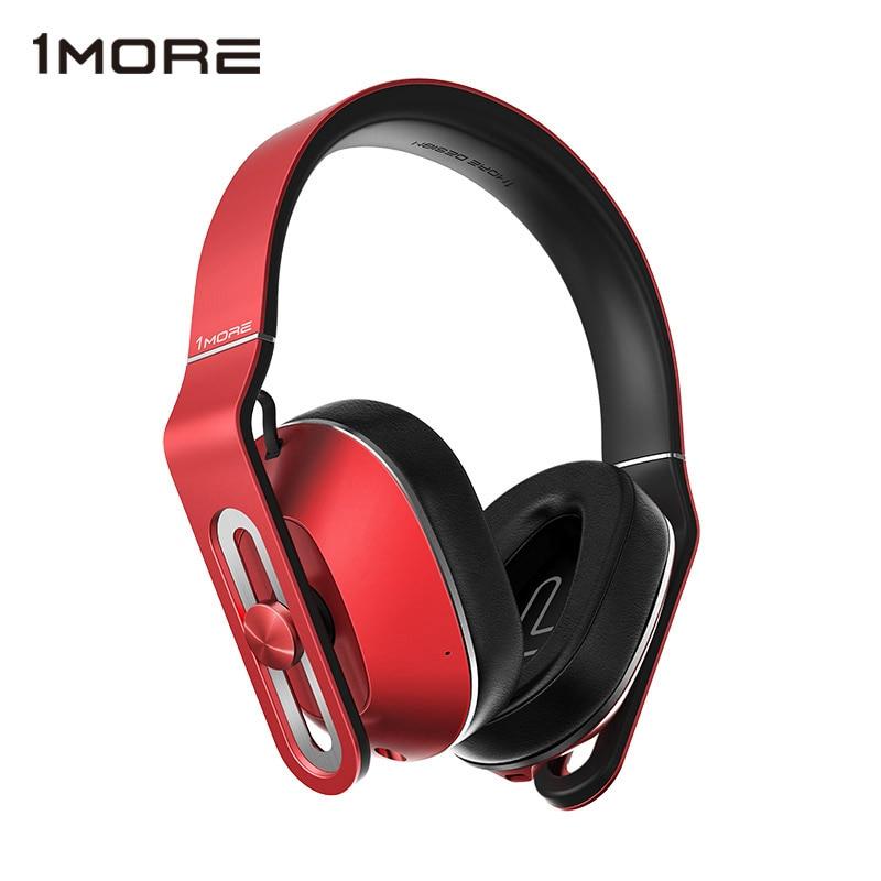 Original 1MORE MK801 Over Ear Headband Wired Headphones with Microphone Studio Bass HIFI Big Earphone Headset