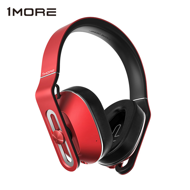 Original 1MORE MK801 Over Ear Headband Wired Headphones with Microphone Studio Bass HIFI Big Earphone Headset for IOS and Androd oneodio wired professional studio pro dj headphones with microphone over ear hifi monitors music headset earphone for phone pc