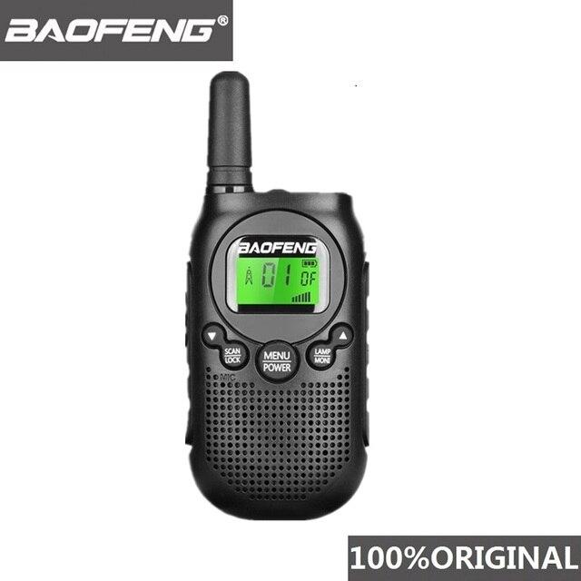 Baofeng BF T6 0.5w מיני ווקי טוקי ילדים רדיו Comunicador נייד רדיו Amador Hf משדר 2 דרך רדיו T6 Wokï טוקי רדיו
