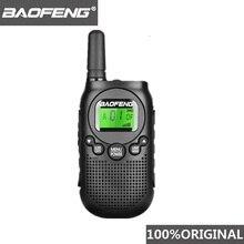 Baofeng BF T6 0.5w Mini Walkie Talkie Kids Radio Comunicador Portable Radio Amador Hf Transceiver 2 Way Radio T6 Woki Toki Radio