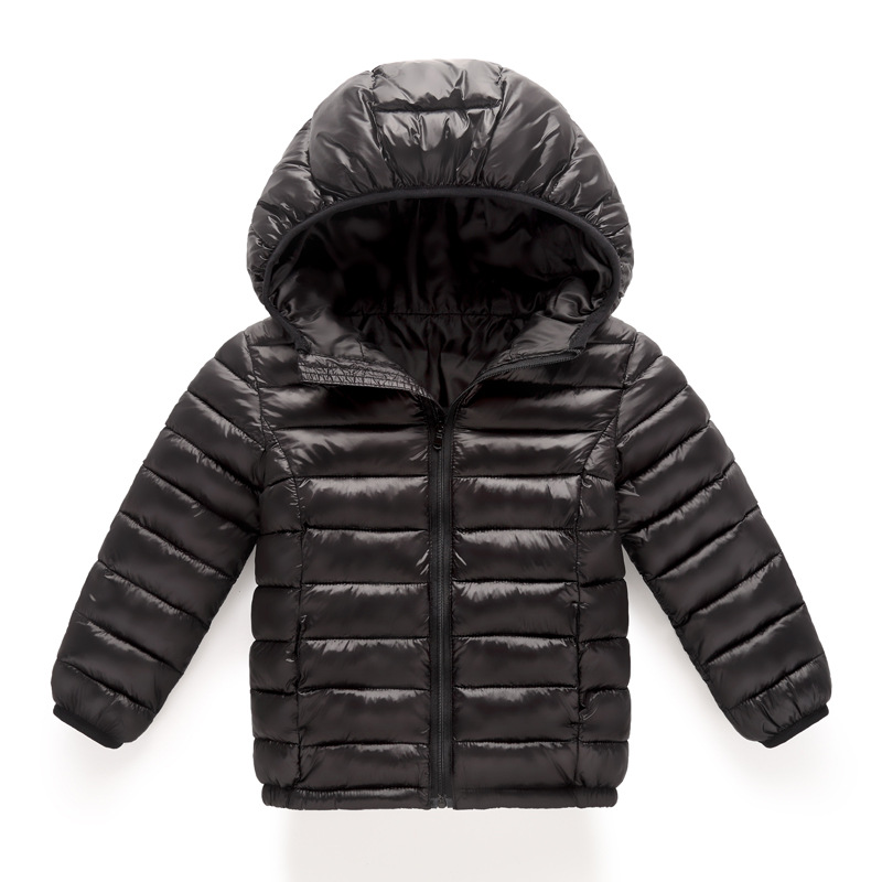 24f640490 Girls Boys 3 8 yrs Children Cotton Coat Winter Waterproof Thicker ...