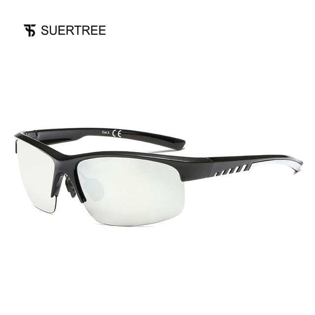 b6d1ab156 SUERTREE Sport Polarized Sunglasses Men Outdoor Mountain Fishing Sun Glasses  MTB Driving Eyewear UV400 JH6004
