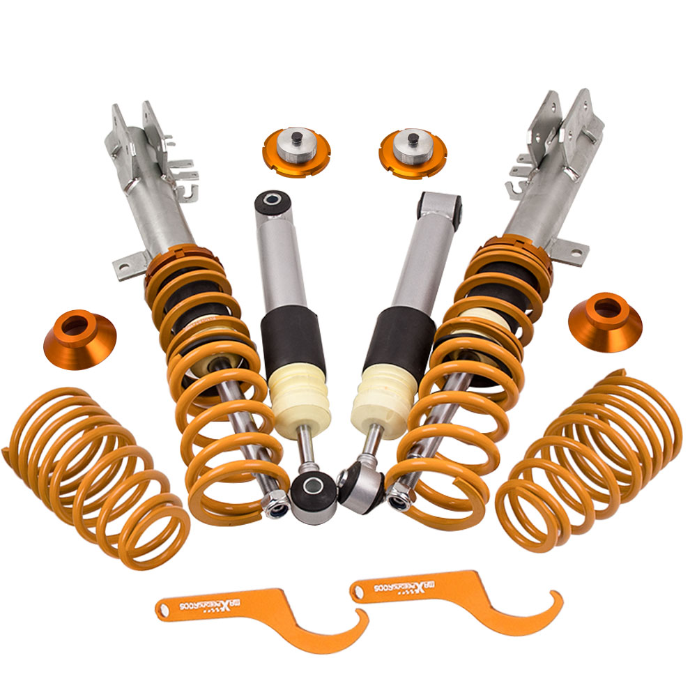 Coilover Suspension Lowering Kit For Fiat 500 1.4 Abarth 2008-2012 Coilover Suspension Lowering Kit For Fiat 500 1.4 Abarth 2008-2012
