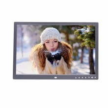 17 inch 17 inches digital photo frame family picture player enterprise video player loop playback digital album support SD USB
