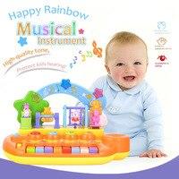 12 Keys Baby Mini Musical Toys Animal Farm Piano Electronic Keyboard Music Educational Development Instrument Toy for Children