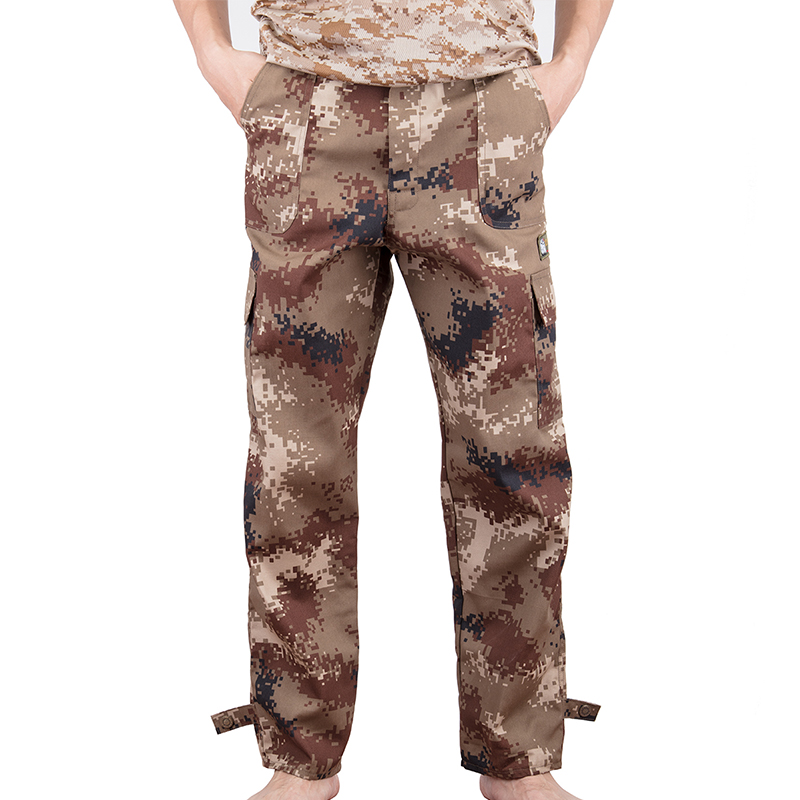 DODOING Multi Pocket Military Style Army Camouflage Pant Men's Cargo Comfortable Pants Male Trousers Plus Size S-4XL