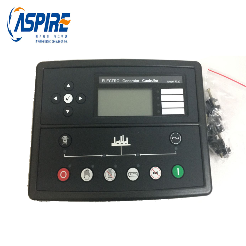 New Free Shipping ! Auto Module Start Generator Controller 7320 Compatible with Original free shipping dse501nk engine generator controller module auto start controller