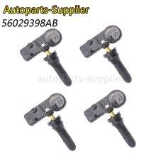 купить New TPMS Tire Pressure Monitor Sensor 433MHZ For Chrysler For Jeep Wrangler For Dodge Ram 56029398AB 56029398AA дешево