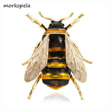 Morkopela Bee Enamel Pin (China)