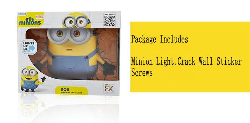 Minion LED Wall Lamp