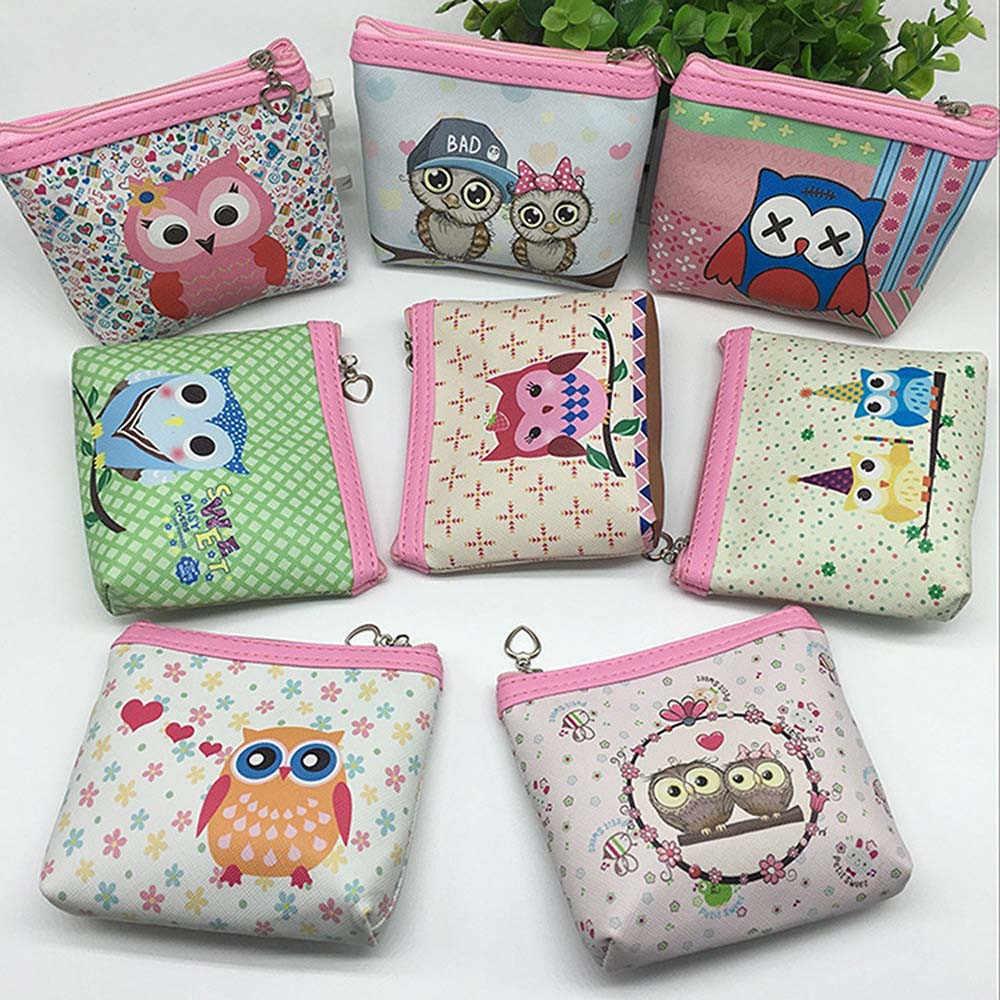 Короткие женские брендовые кошельки женские Сова Бумажник для визиток держатель женский клатч-кошелек ручной Роскошные Дизайнерские клатчи сумочки известного бренда carteira # L3 $