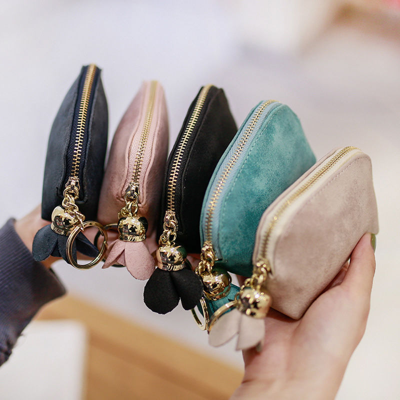 2018 Brand New Cute Women Mini Coin Purse Flower Zipper Wallet Card Holder Key Holder Bag Clutch Money Bag