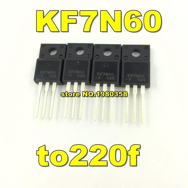 จัดส่งฟรี 100pcs KF7N60 to220f