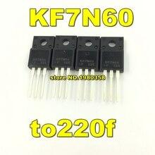 Free shipping 100pcs KF7N60 to220f