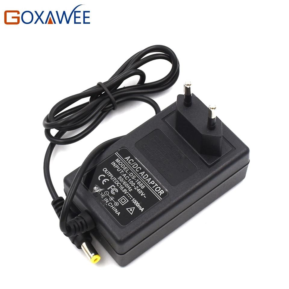 GOXAWEE 12 v 16,8 v 21 v Akku-bohrschrauber Schraubendreher Lithium-Batterie Ladegerät Akku Ladegerät Adapter