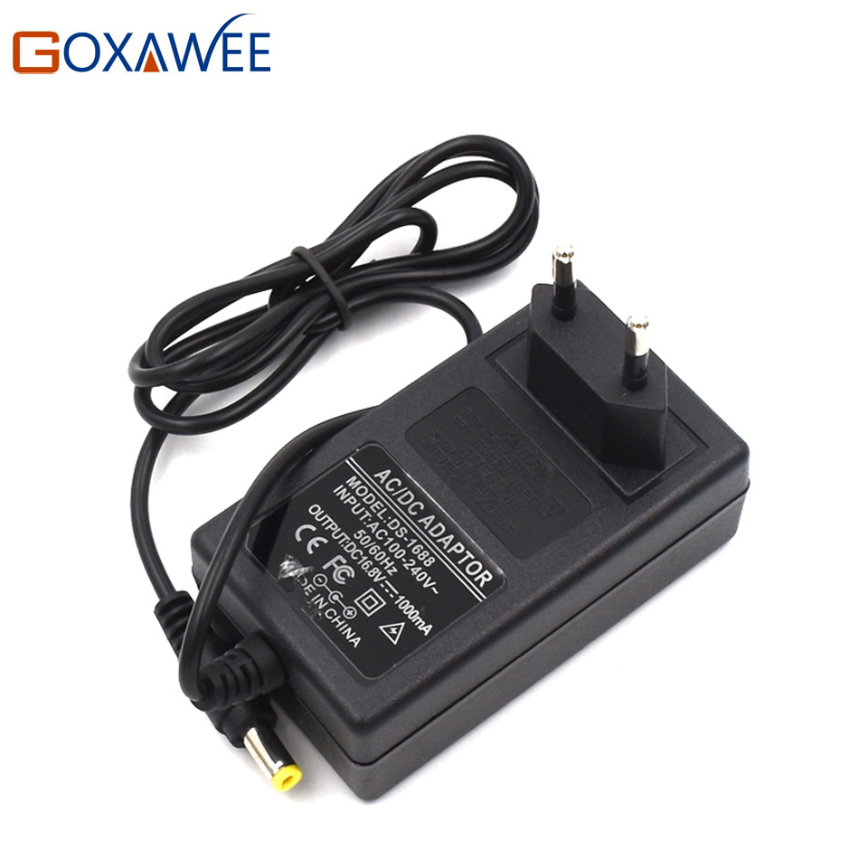 GOXAWEE 12V 16.8V 21V  Cordless Drill Screwdriver Lithium Battery Charger Battery Pack Charger Adapter free customs taxes high quality skyy 48 volt li ion battery pack with charger and bms for 48v 15ah lithium battery pack