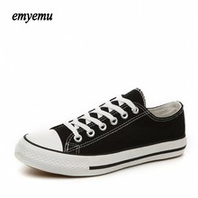 New Brand Unisex Men Women Low Style Canvas Shoes Clasic Casual shoes women, Board star Shoes all size 35-44