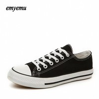 New Brand Unisex Men Women Low Style Canvas Shoes Clasic Casual Shoes Women Board Star Shoes