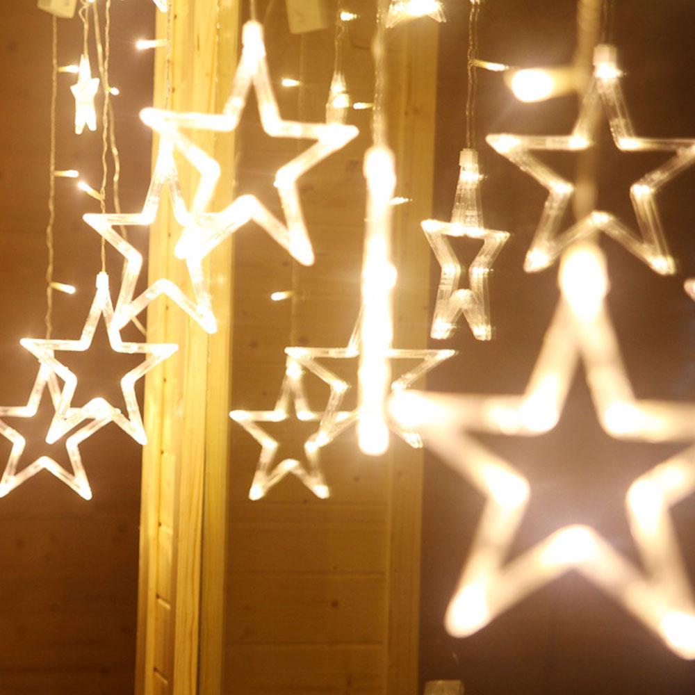 Stars Style 138 LED Beam Strobe Light Strip String Lamp ...