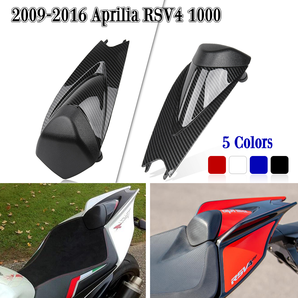 Motorcycle Pillion Rear Seat Cover Cowl Fairing ABS For Aprilia RSV4 R 1000 FACTORY APRC 2009 2010 2011 2012 2013 2014 2015 2016