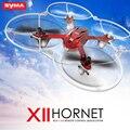 Оригинал SYMA X11 мини беспилотный из светодиодов свет без камеры 4CH 2.4 ГГц 6-Axis гироскопа дистанционного управления вертолет 3D лоскут Quadcopter приколы игрушки