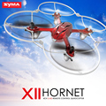 Original syma x11 mini rc drone llevó luz 4ch 2.4 ghz 6-axis quadcopter gyro control remoto rc helicóptero 3d flap toys