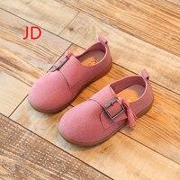 Spring New Pattern Children Shoes Dance Bow Princess Baby Soft Bottom Single Girls Sneakers Meisjes Schoenen