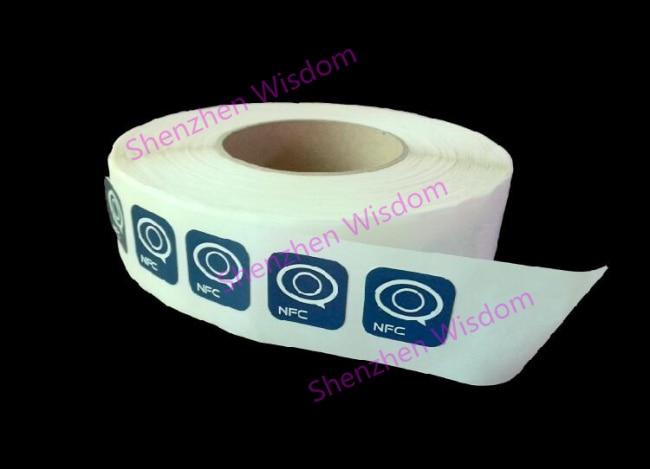 1000pcs Custom Printing Ntag213 NFC Stickers NFC RFID Tag 13.56MHz ISO14443A  Customize Printed Ntag 213 Sticker Custom Chips LF