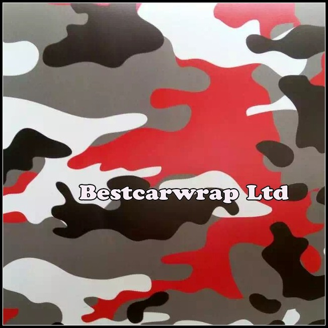 Red white camo graffiti camouflage vinyl wrap small stickerbomb with air free camo film for car wrap stickers 1 52 x 30m roll on aliexpress com alibaba