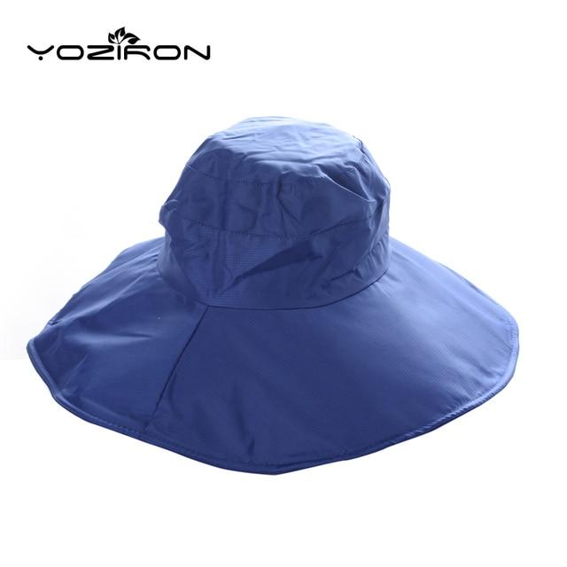 d1f7453dd17 2016 New Men Multifunction Summer Sun Hat Sunshade Absorbent Waterproof  Foldable Sunhat Wide Brim Floppy Fishing Hat Hiking Caps