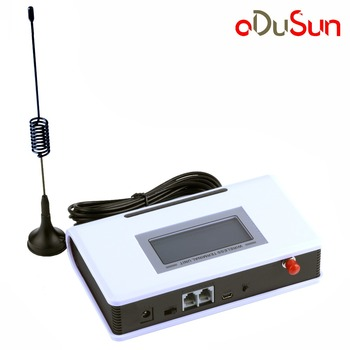 Adusun GSM 850/900/1800/1900MHZ Fixed Wireless Terminal Router with LCD Support Alarm System PABX Caller ID Clear Voice Stable 1
