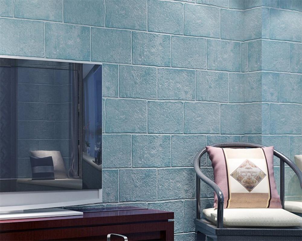 Beibehang Thick Brick 3D Wallpaper roll Living Room Bedroom Walkway Background wallpaper for walls 3 d wall paper home decor home improvement 3d wallpaper for walls 3d decorative vinyl wall paper abstract space background wall wallpaper