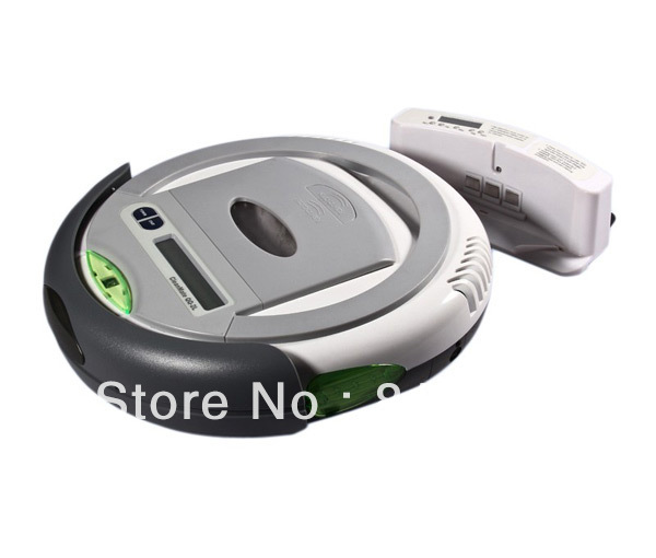 (Free to EURO) Robotic vacuum cleaner QQ2LT time control,auto-charege cleaner,origina design,good quality,good price