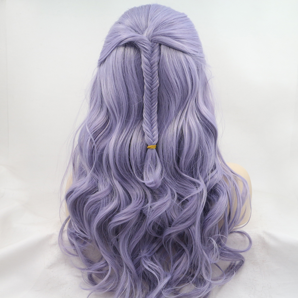 braided wigs purple color