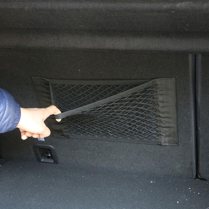 Autocollant de voiture coffre boîte de rangement sac Net accessoires pour audi a4 a5 a6 b5 b6 b7 q3 q5 q7 rs quattro s line c5 c6 tt sline a3 a7