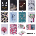 For Apple iPad Pro 9.7 Cases Feather Horse Tree print PU Leather Stand Wallet Case Smart Cover For ipad air 3 iPad7 Cases #1