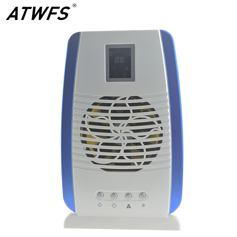 Home Air Purifier Ionizer Air Cleaner UV Lamp Sterilizer Anion Activated Carbon Air Filter Hepa Filter