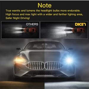 Image 3 - 2 sztuk z 4 stron, Lampy LED H1 H11 H4 LED H7 12 V światła samochodu HB4 9005 9006 9004 9007 9012 880 881 H27 H13 żarówka do reflektorów samochodowych 6500 K